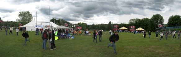 Despite rather cold grey weather the crowds made the Canada Day event another fun one for everyone!