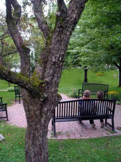 The romance of a quiet park bench is now a reality as Knowlton installed several brand-new public benches.
