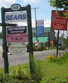 The poor shape of signs in Knowlton