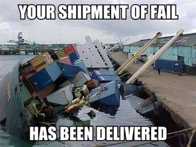 Brome Lake Blog? Your delivery of fail has arrived!