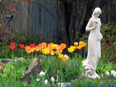 Beautiful gardens in Quebec! Some of the most incredible flower arrangements and, statues and water gardens are right here in The EAstern Townships of Quebec