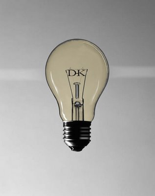 An incandescent lightbulb-as close to the sunset as many of us will see!