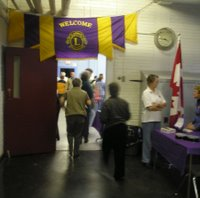 Knowlton Academy was the place for the Lions Club Remembrance Day Brunch.