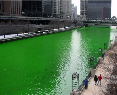 How green will a polluted lake become? Yabadabadooo!!