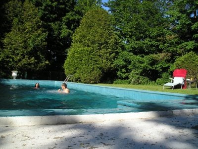 An inground swimming pool is included