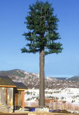 Some incredible disguises have turned towers into trees!