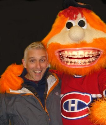 Laughing, like squeezing a big orange mascot, is so good for the soul it doesn't matter if your team even wins!